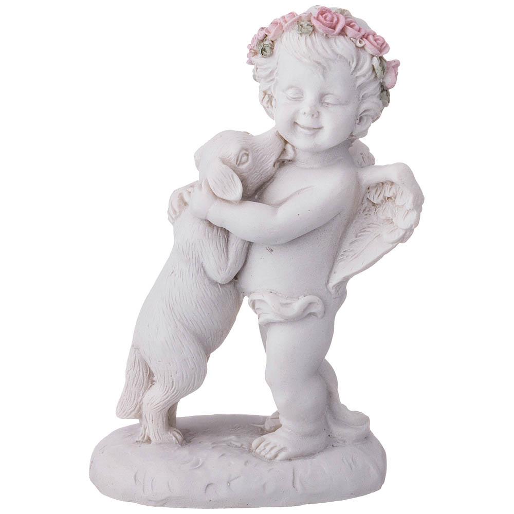 Купить Статуэтки и фигурки Lefard, Фигурка Tricia (7х5х10 см), Китай, Белый, Розовый, Полистоун