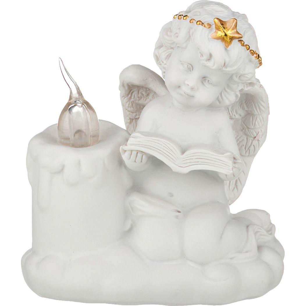 Купить Статуэтки и фигурки Lefard, Фигурка Amore (10 см), Китай, Белый, Золотой, Полистоун