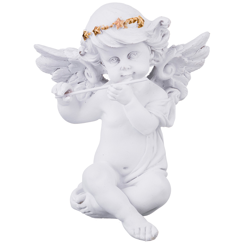 Купить Статуэтки и фигурки Lefard, Фигурка Amore (10х12 см), Китай, Белый, Золотой, Полистоун