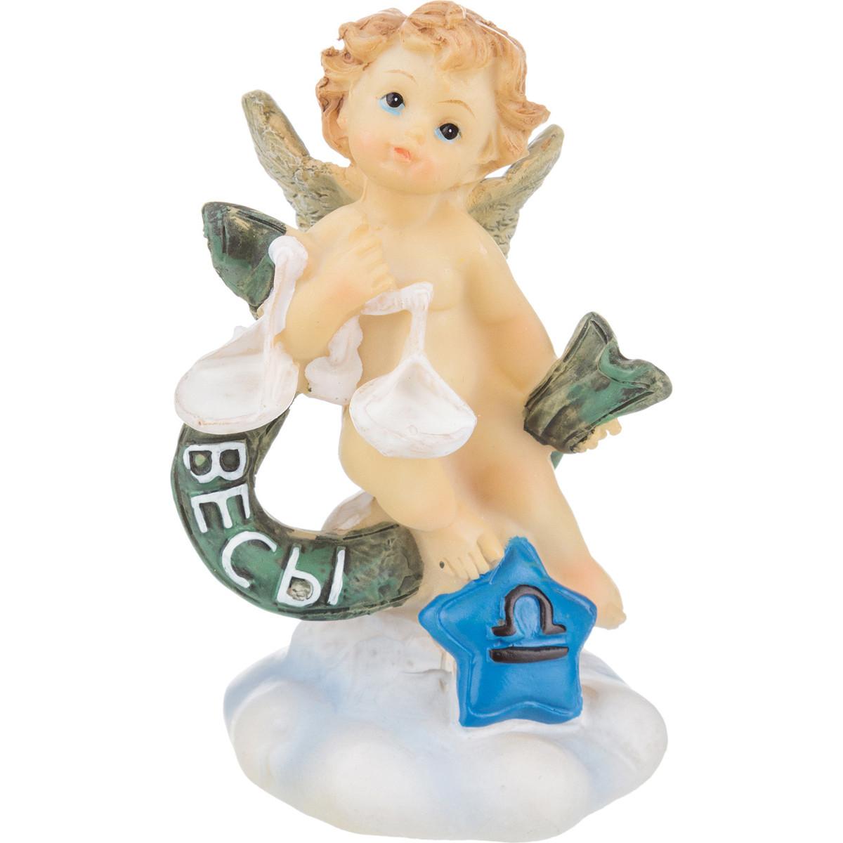 Купить Статуэтки и фигурки Lefard, Фигурка Donough (4х4х7 см), Китай, Бежевый, Зеленый, Полистоун
