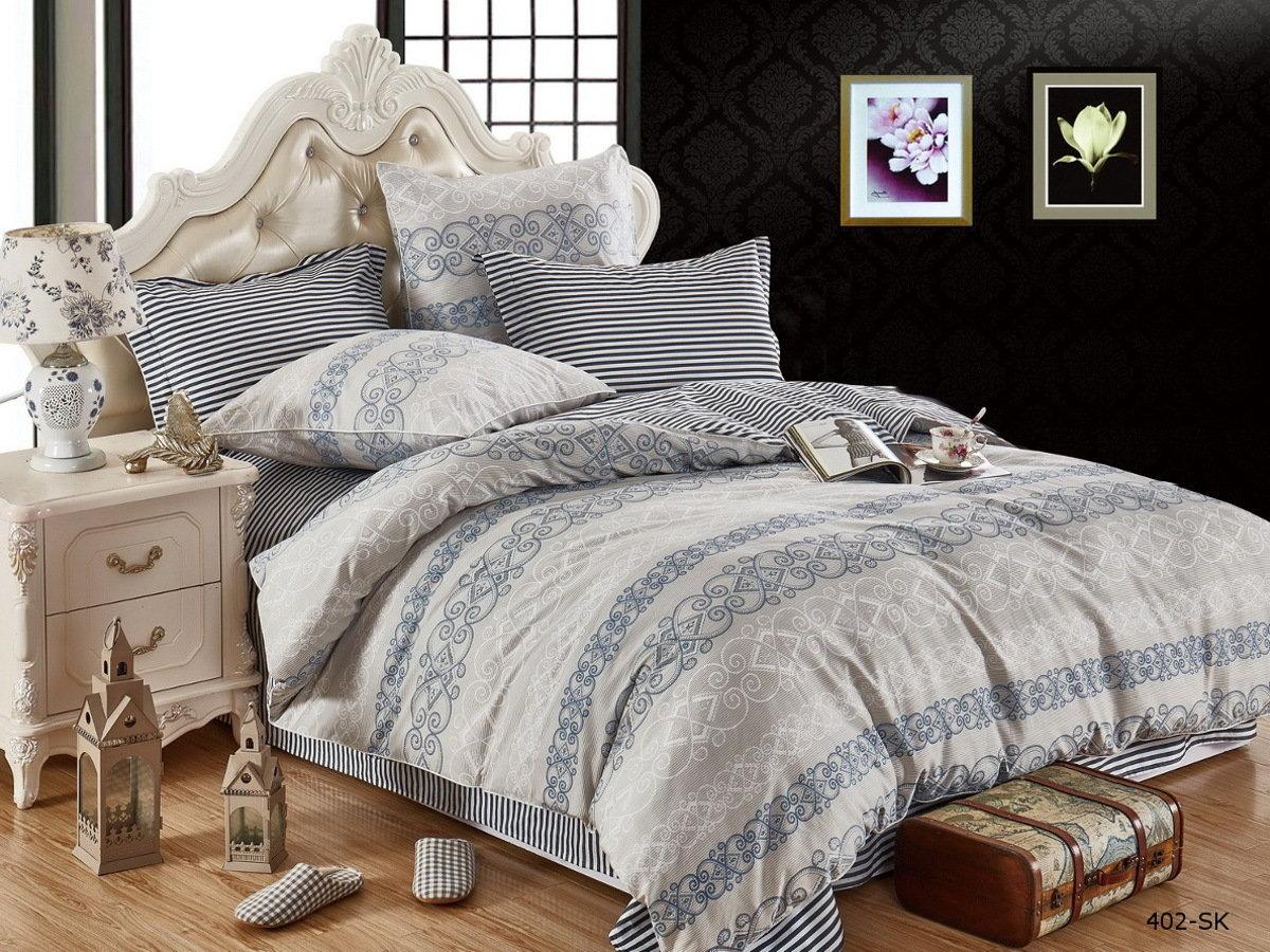 Комплекты постельного белья Cleo Постельное белье Jenna (2 сп. евро) постельное белье cleo постельное белье night 2 сп евро