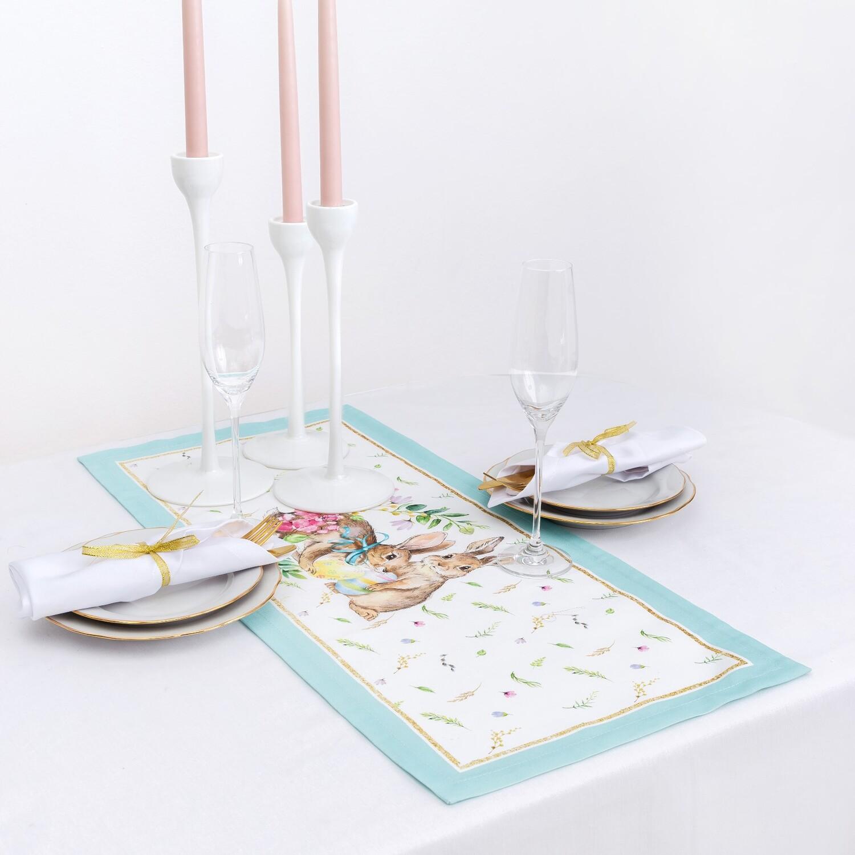 Дорожка на стол Счастливая пасха (30х70 см)