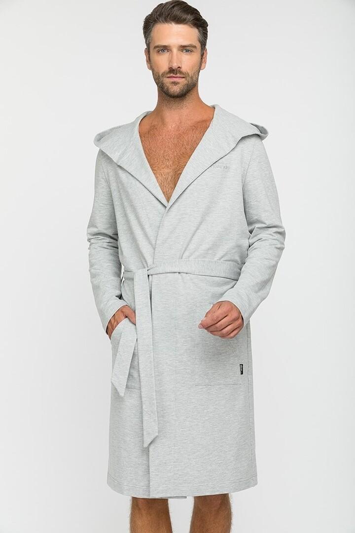 Домашний халат Regina Цвет: Серый,Меланж (50-52) Peche Monnaie pmn714141