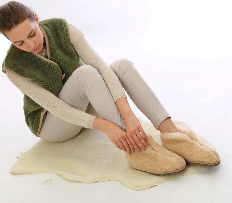 Обувь для дома Альпака Цвет: Бежевый (40-41) ALTRO lek331195