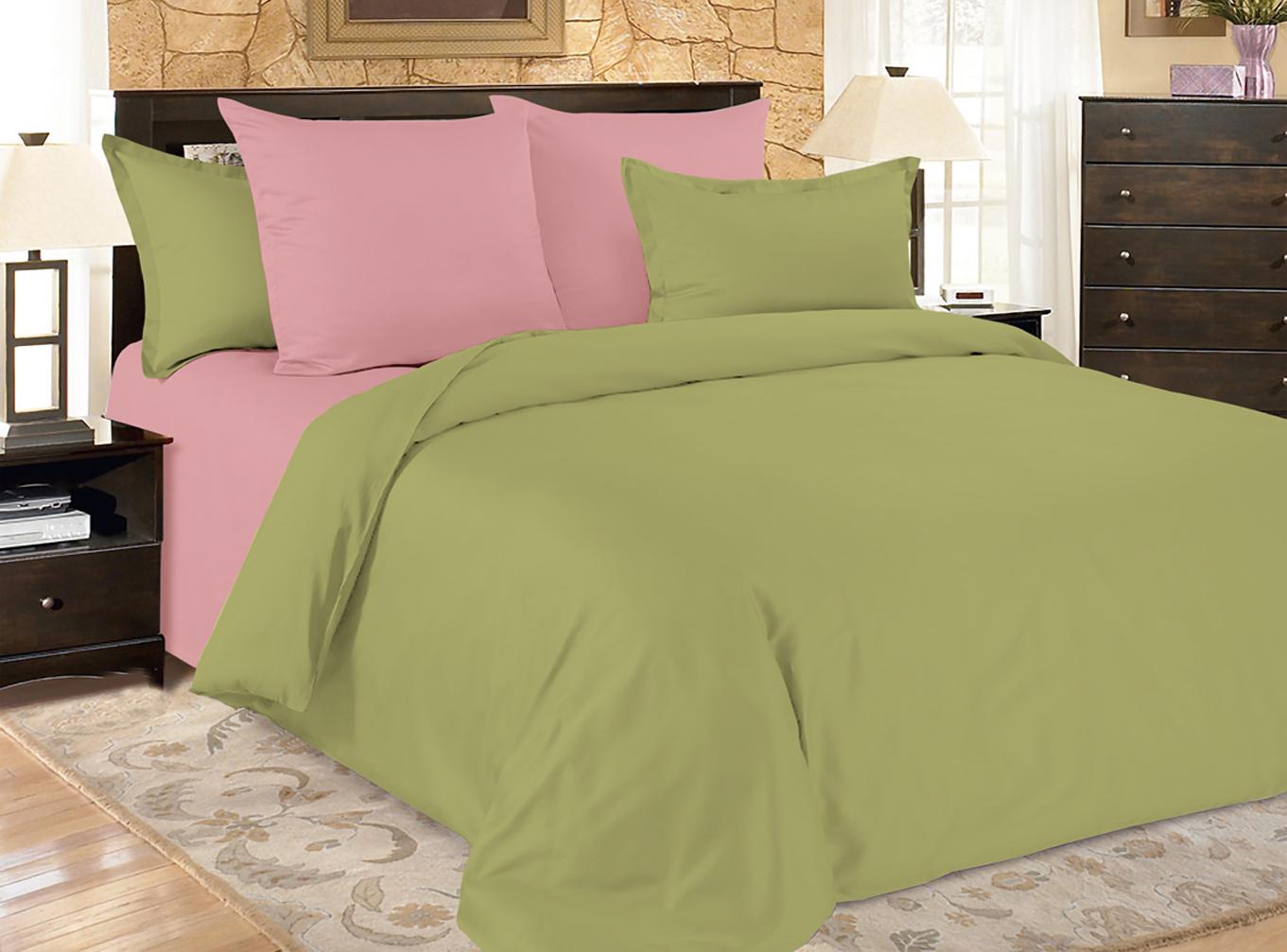 Купить Комплекты постельного белья Amore Mio, Постельное белье Malachite (2 спал.), Китай, Синтетический сатин