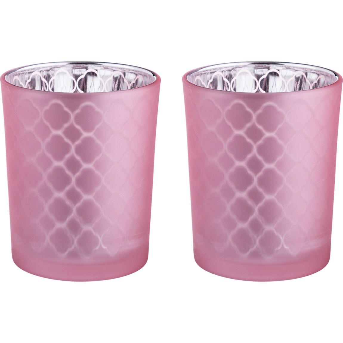Купить Декоративные свечи Lefard, Подсвечник Armidale (6х7 см - 2 шт), Китай, Стекло