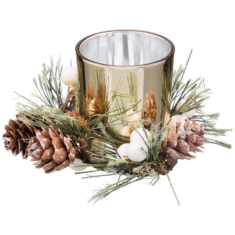 Декоративные свечи Lefard Подсвечник Flamant (11х11х8 см) lefard сувенир mikado 15 см