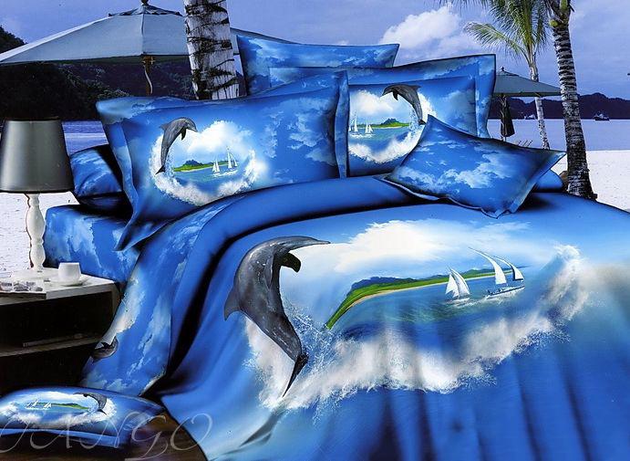 Купить Комплекты постельного белья Tango, Постельное бельеAnsonia(2 спал.), Китай, Голубой, Синий, Хлопковый сатин