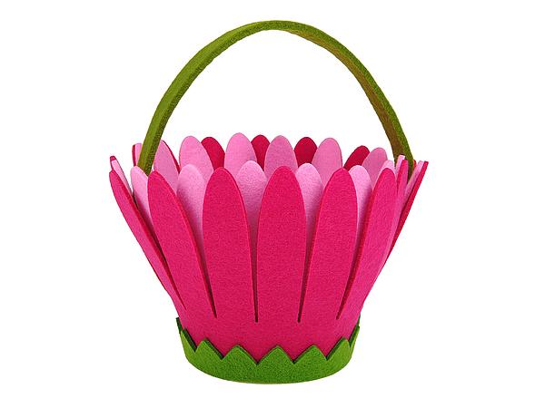 Подарочная корзина Цветочек (18х24 см) фото