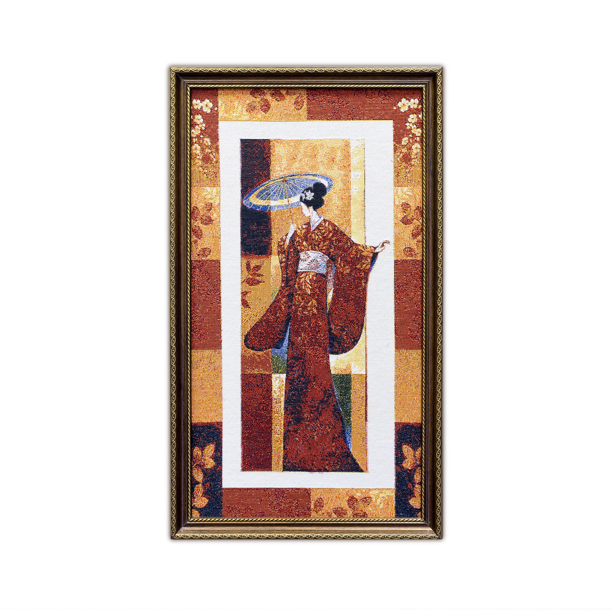 Купить Картины, постеры, гобелены, панно A La Gobelin, Картина Японка С Зонтом (34х58 см), Россия, Гобелен