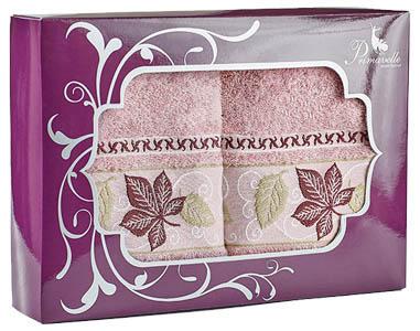 где купить Полотенца Primavelle Полотенце Lea Цвет: Сухая Роза (50х90 см - 2 шт ) по лучшей цене