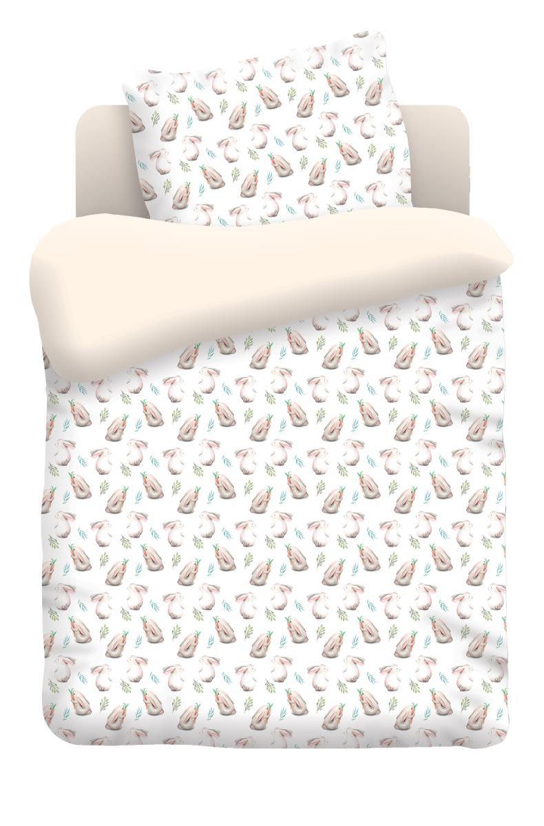 Купить Детское постельное белье Непоседа, Детское Постельное белье Ушастики (112х147 см), Россия, Бязь