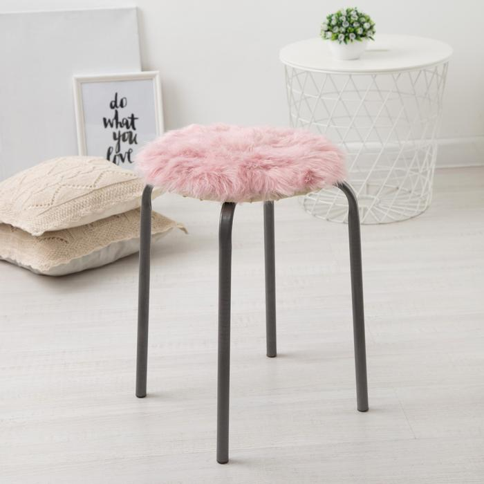 Подушка на стул Pushinka Цвет: Пудровый (30х30)