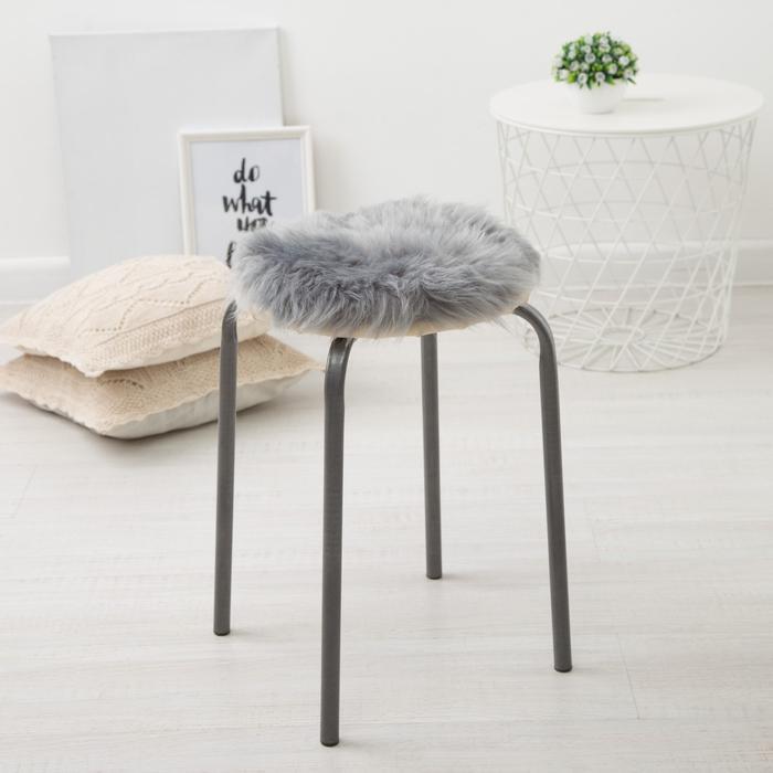Подушка на стул Pushinka Цвет: Серый (30х30)