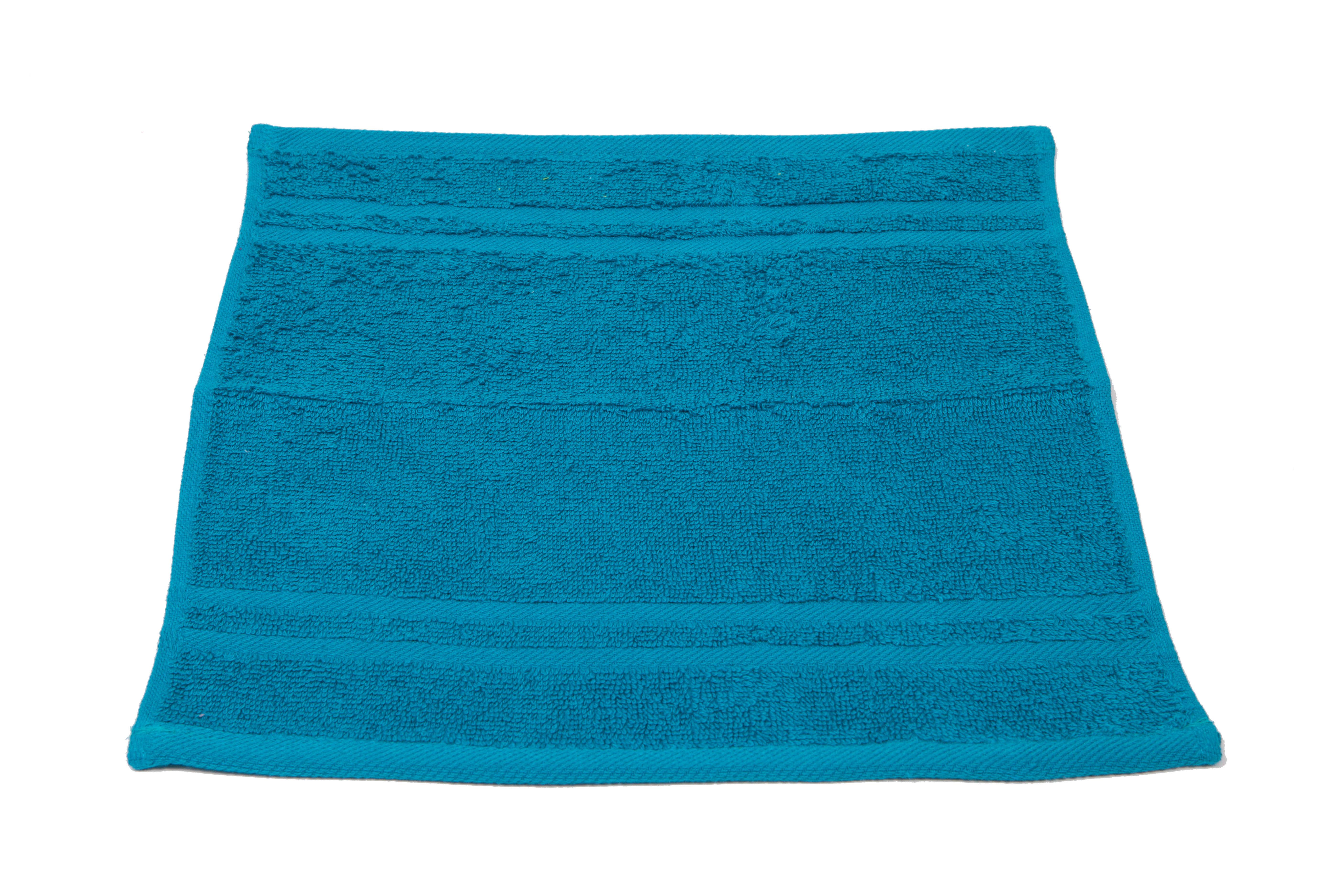 Купить Полотенца Arloni, Полотенце Marvel Цвет: Бирюзовый (33х33 см), Индия, Махра