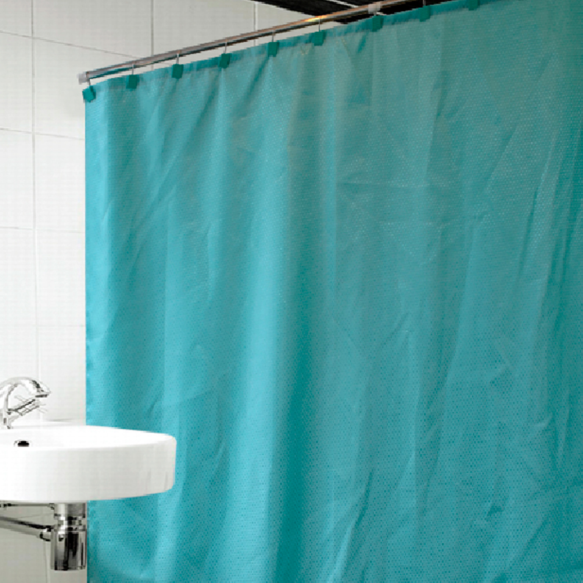 Купить Шторы и карнизы Arya, Шторы для ванной Celeste Цвет: Зеленый, Турция, Полиэстер