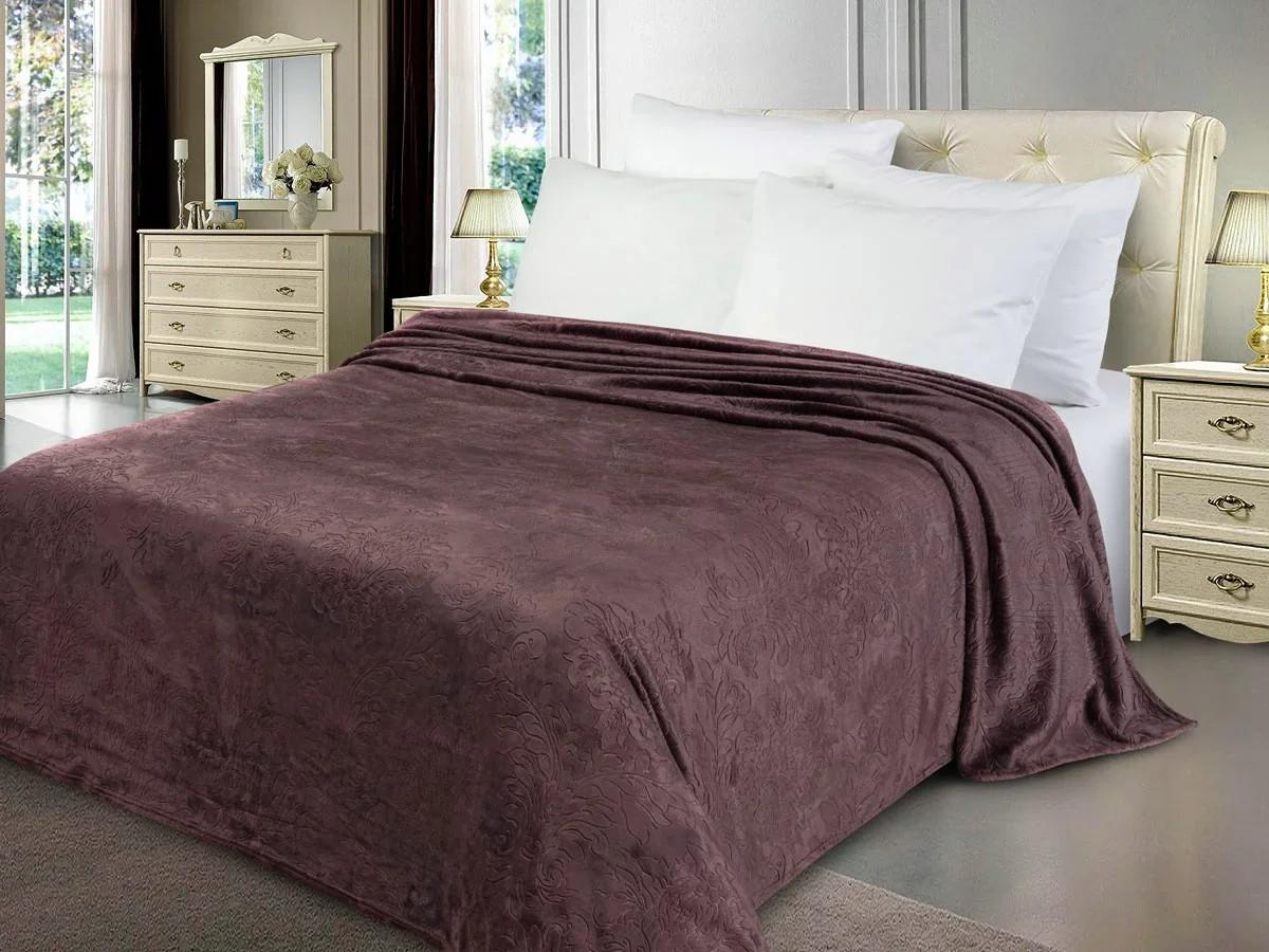 Покрывало Dixon цвет: баклажановый (150х200 см)