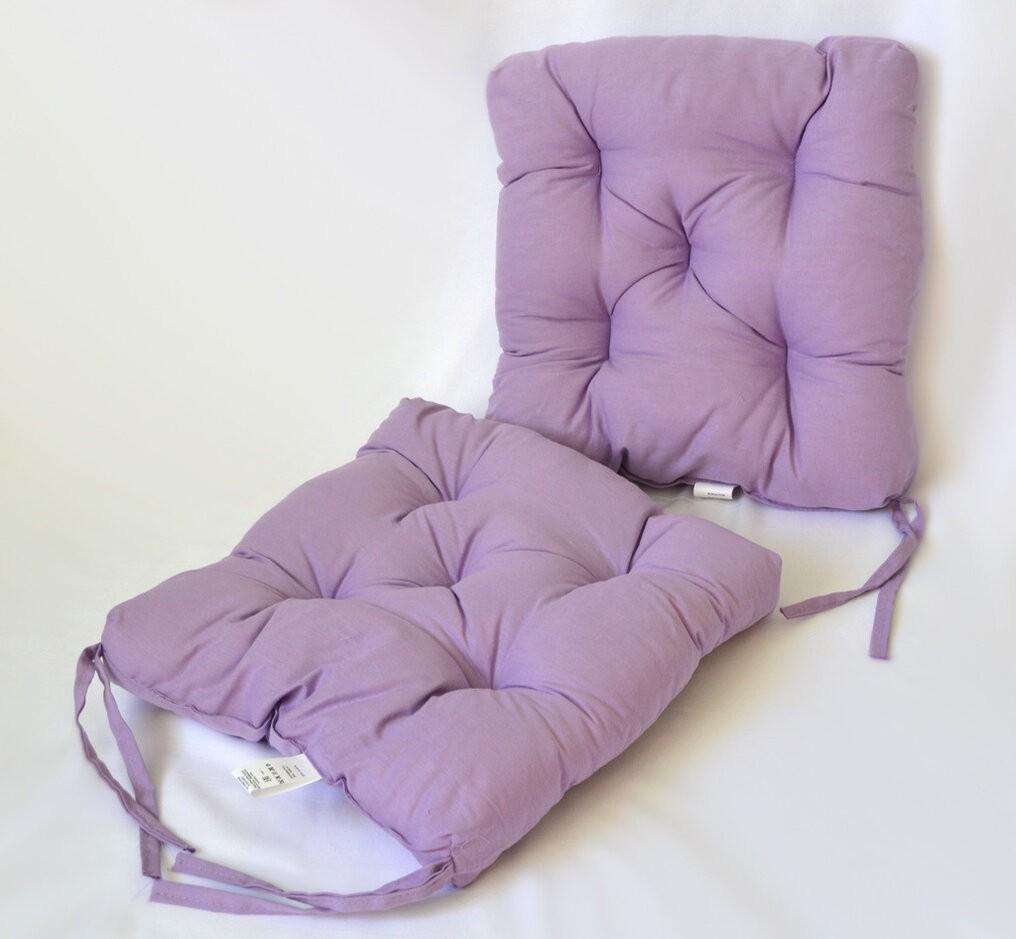 Подушка на стул Breanna цвет: фиолетовый (35х35 (2 шт))
