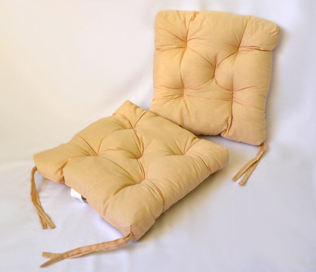 Подушка на стул Abigil цвет: бежевый (35х35 (2 шт))