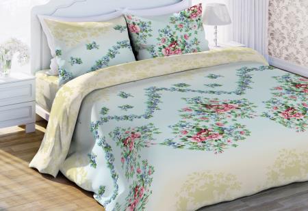 Комплекты постельного белья Любимый дом Постельное белье Виолетта (2 спал.) цена