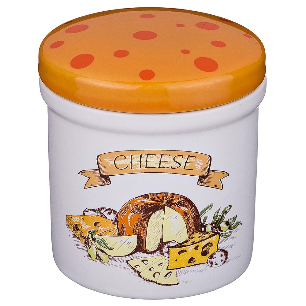 Хранение продуктов Agness, Банка Для Пищевых Продуктов Cheese (200 мл), Китай, Сиреневый, Керамика  - Купить