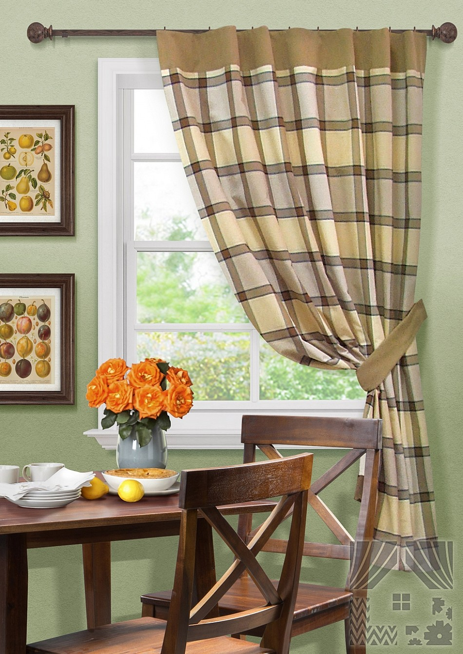 Шторы Kauffort Классические шторы Kitchen