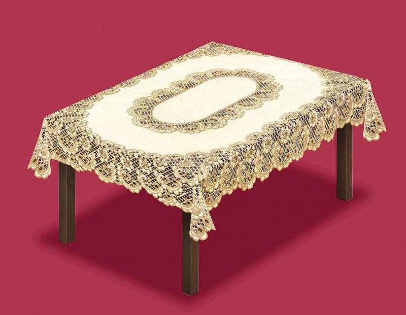 Скатерть Regana Цвет: Кремово-Золотистый (150х250 см)