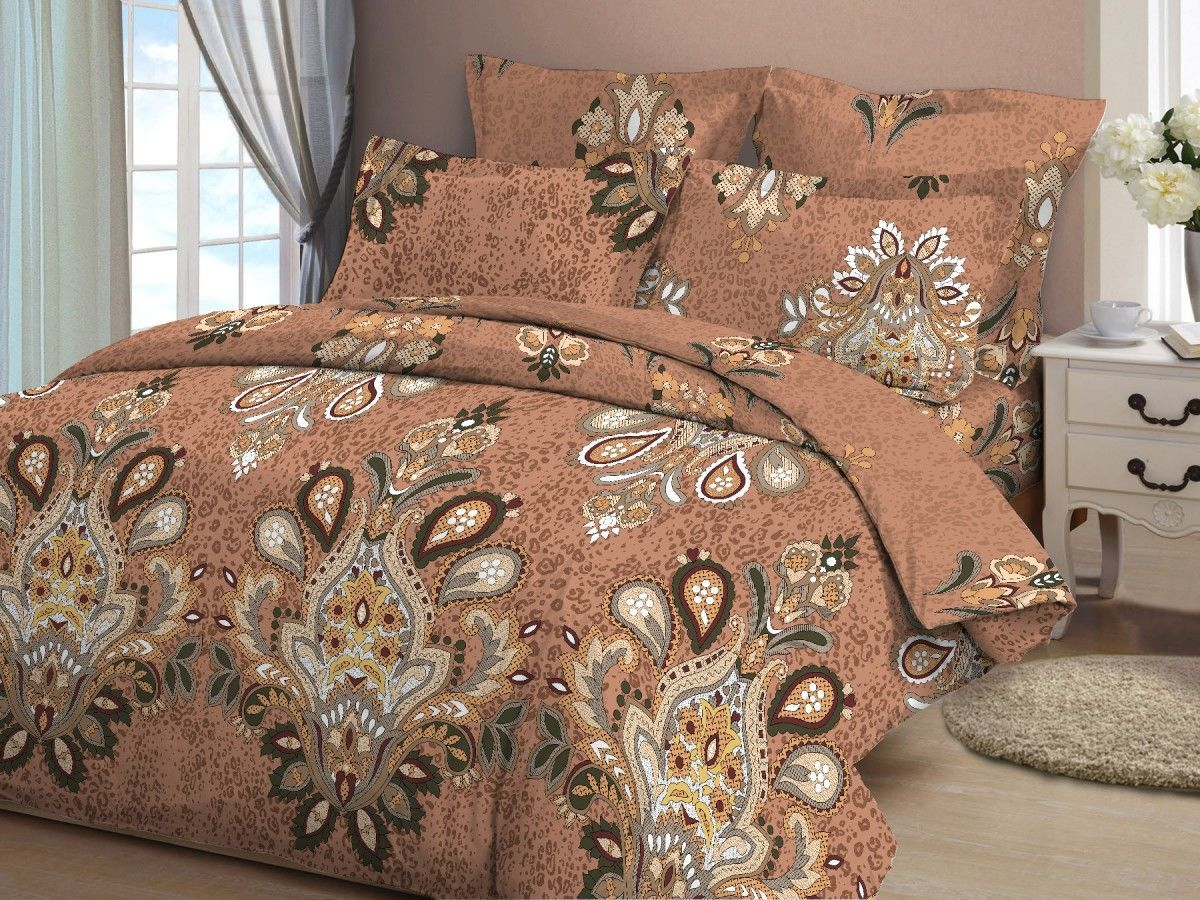 Комплекты постельного белья ТК Хлопковый Рай Постельное белье Измир (семейное)