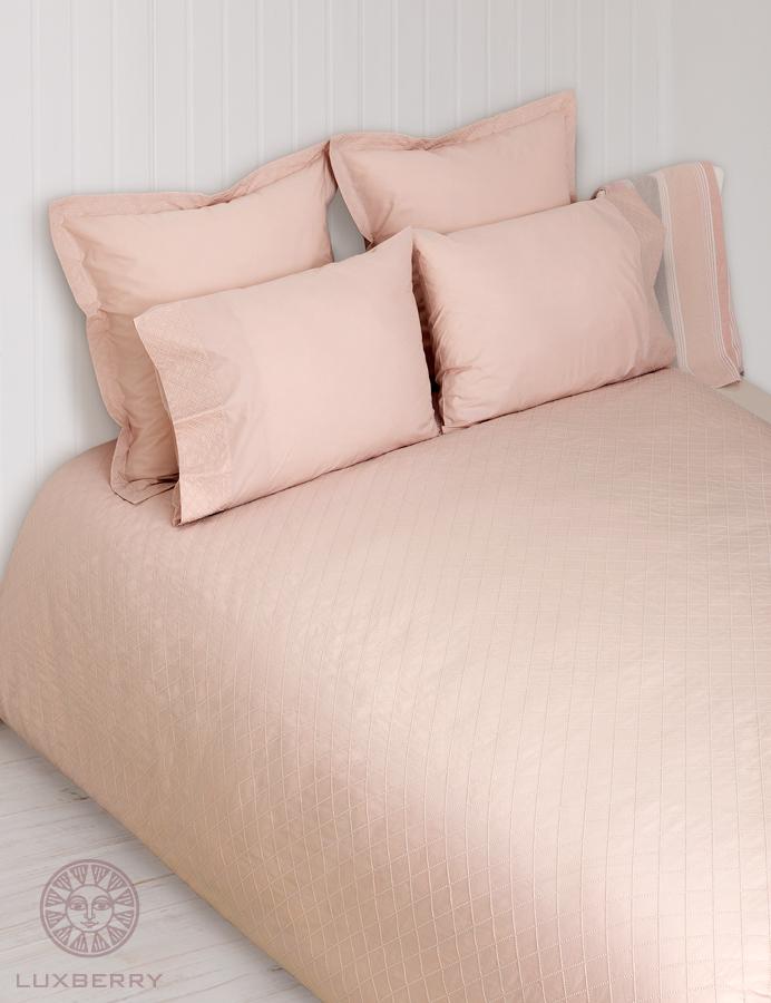 Купить Комплекты постельного белья BOVI, Постельное белье Plombir Цвет: Розовый (1, 5 спал.), Португалия, Перкаль