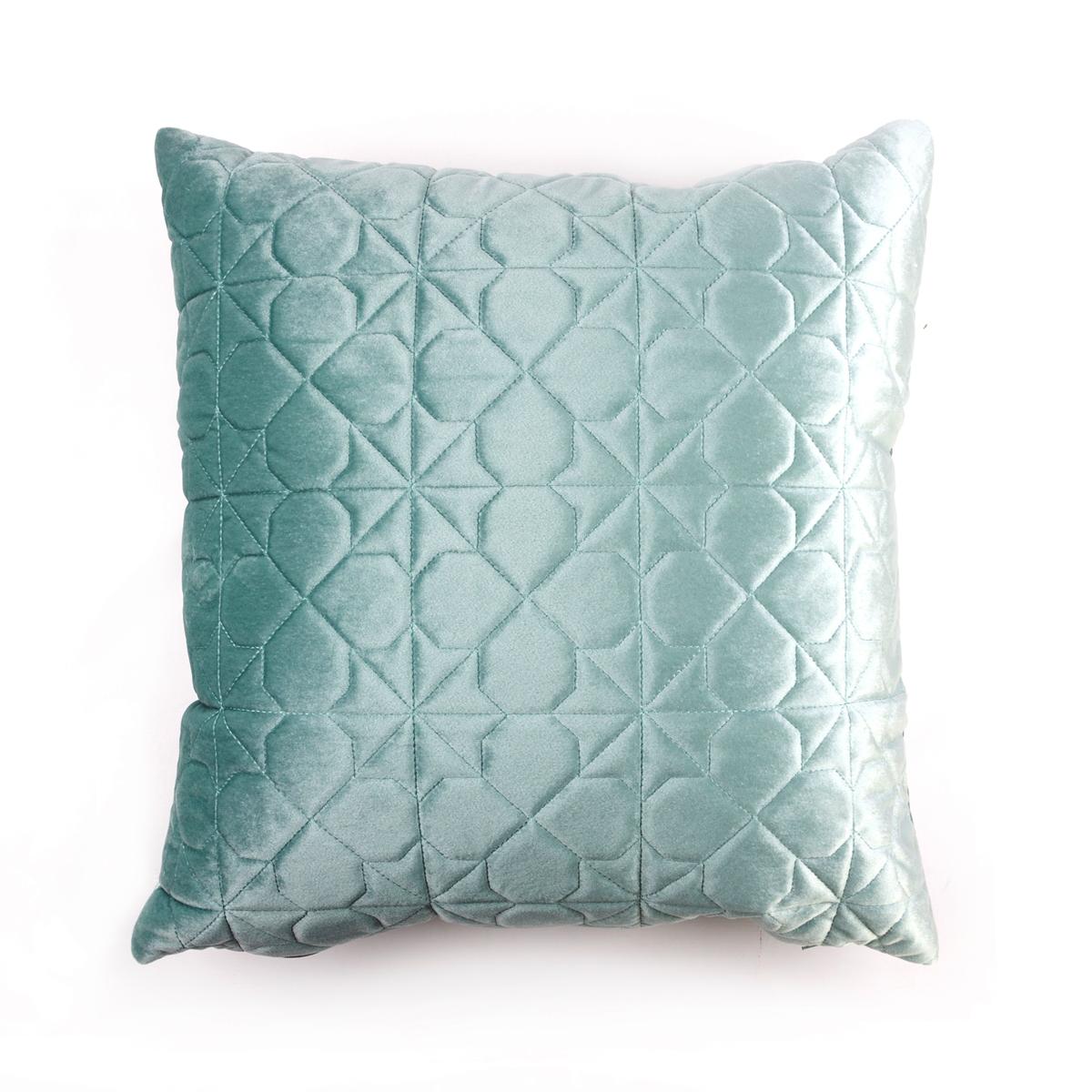 Купить Декоративные подушки Arya, Декоративная наволочка Bradburn Цвет: Аква (45х45 см), Турция, Полиэстер