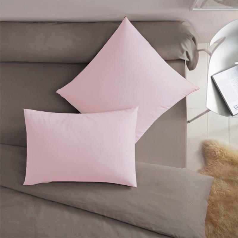 Купить Наволочки Dome, НаволочкаDomeЦвет: Розовый (70х70 (2 шт)), Дания, Хлопковый трикотаж