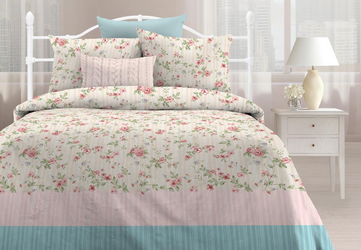 Комплекты постельного белья Любимый дом Постельное белье Маркиза (2 спал.) цена