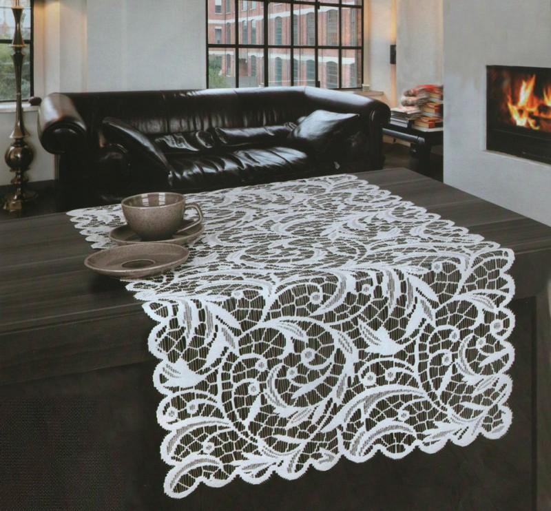 Дорожка на стол Veronica Цвет: Белоснежный (55х100 см)