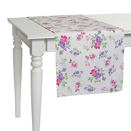 Купить Скатерти и салфетки Apolena, Дорожка на стол Purple Garden (40х140 см), Россия-Турция, Поликоттон