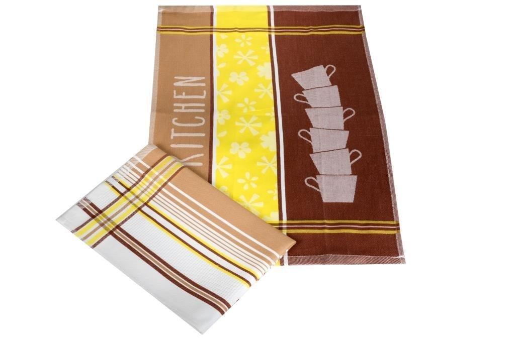 Полотенца Toalla Кухонное полотенце Kit (40х60 см - 2 шт) bon appetit кухонное полотенце cake цвет голубой 40х60 см 2 шт