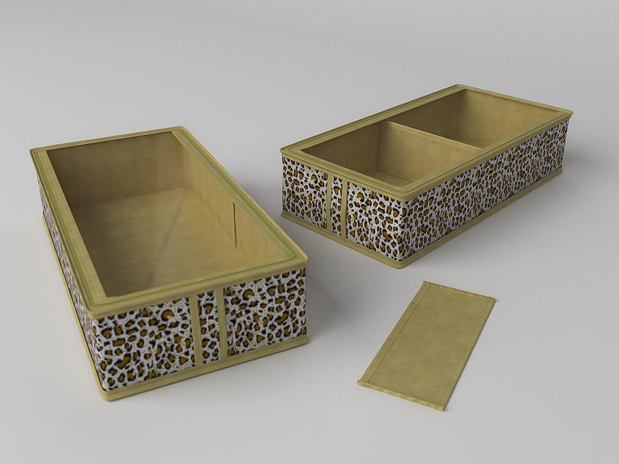 Органайзеры и кофры CoFreT Кофр для обуви Сафари (12х26х52 см)