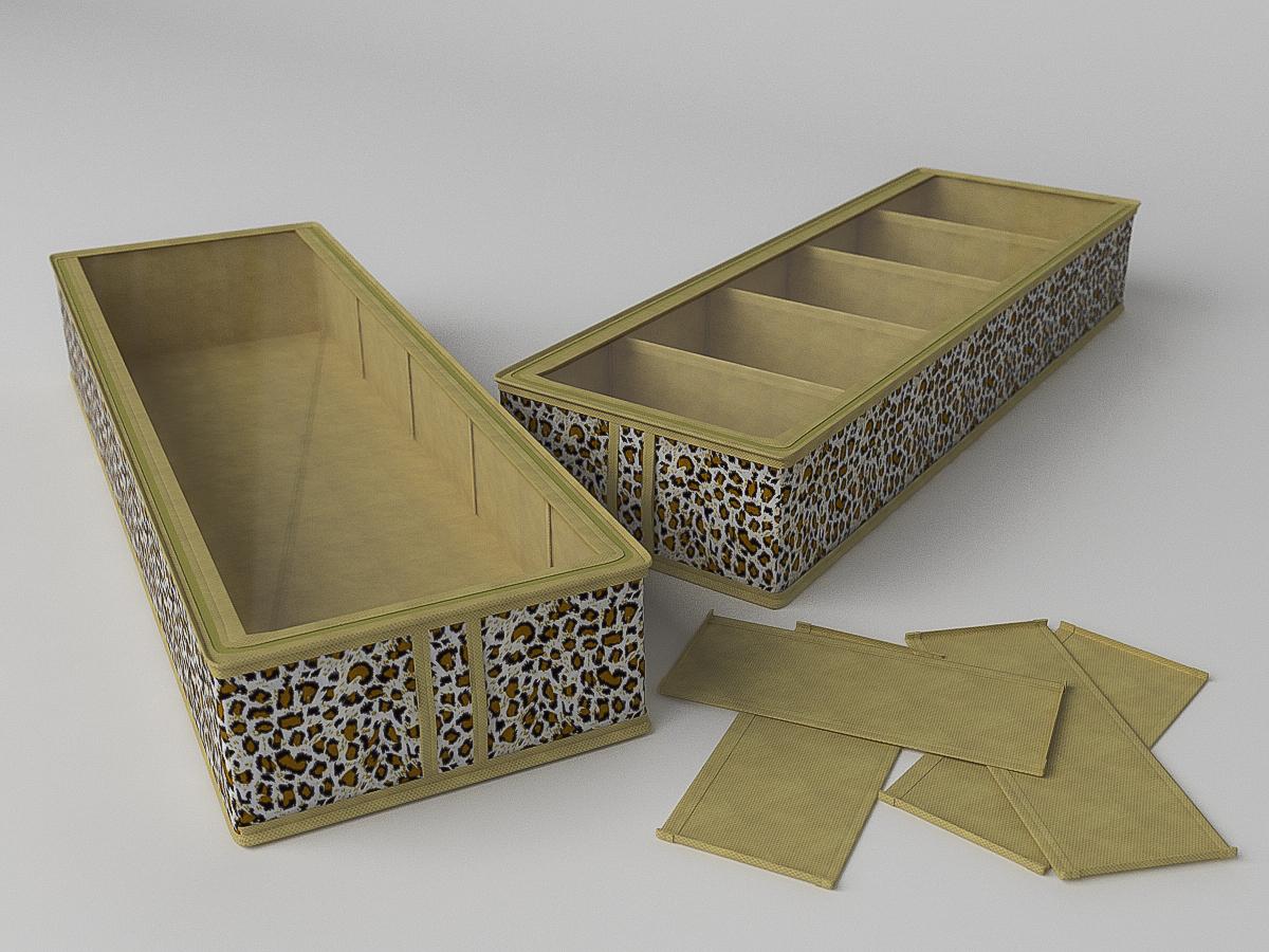 Органайзеры и кофры CoFreT Кофр для обуви Сафари (12х26х78 см)