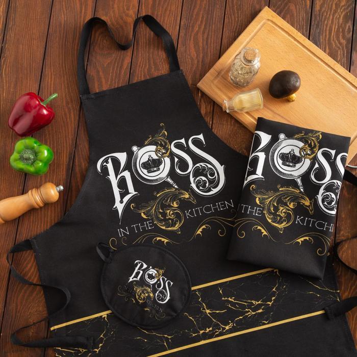Кухонный набор Bossа цвет: черный
