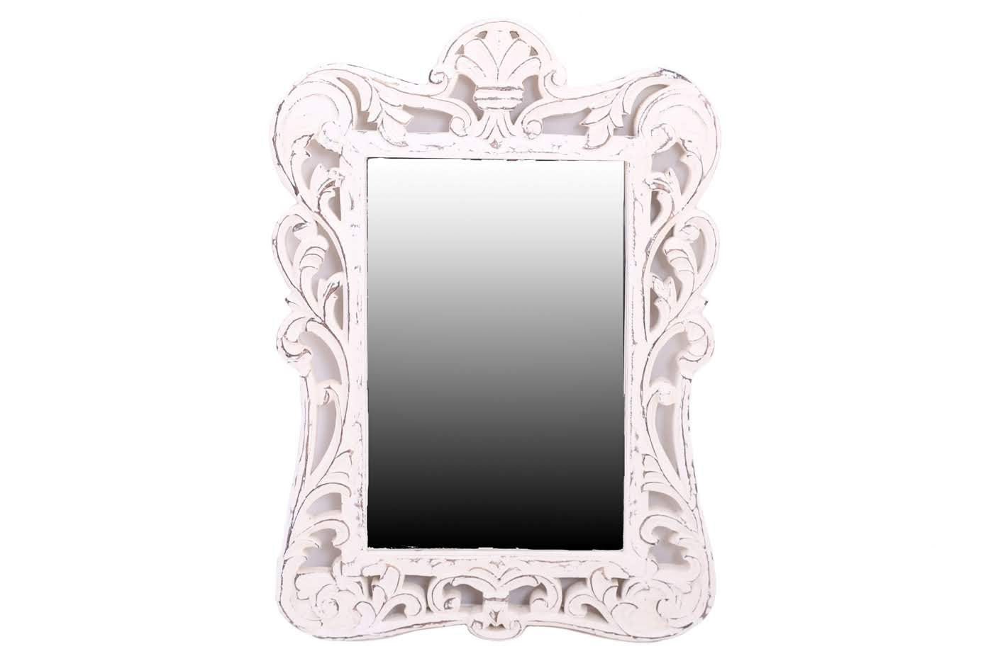 Зеркала Ганг Оправа для зеркала Ula Цвет: Белый (3х47х68 см)