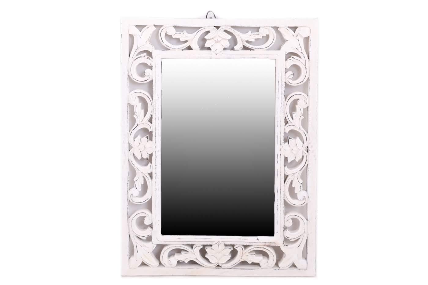 Зеркала Ганг Оправа для зеркала Come Цвет: Белый (3х47х62 см)