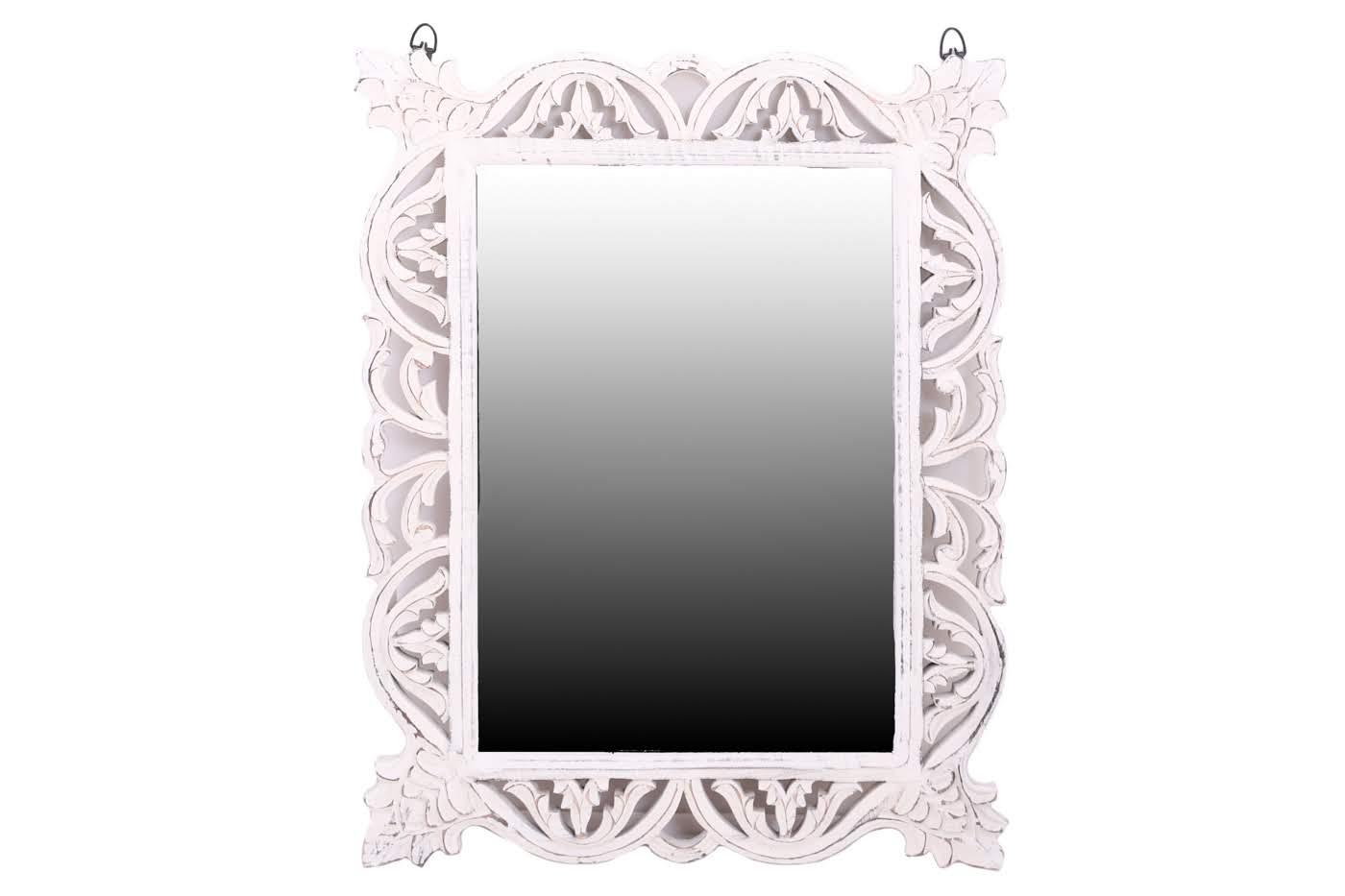 Зеркала Ганг Оправа для зеркала Alexis Цвет: Белый (2х55х71 см)