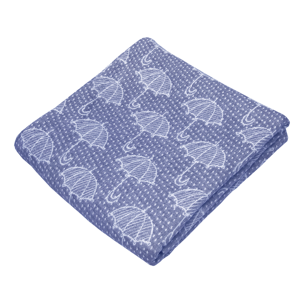 Пледы и покрывала Arloni Покрывало Зонтики Цвет: Синий (145х200 см) покрывала arloni покрывало