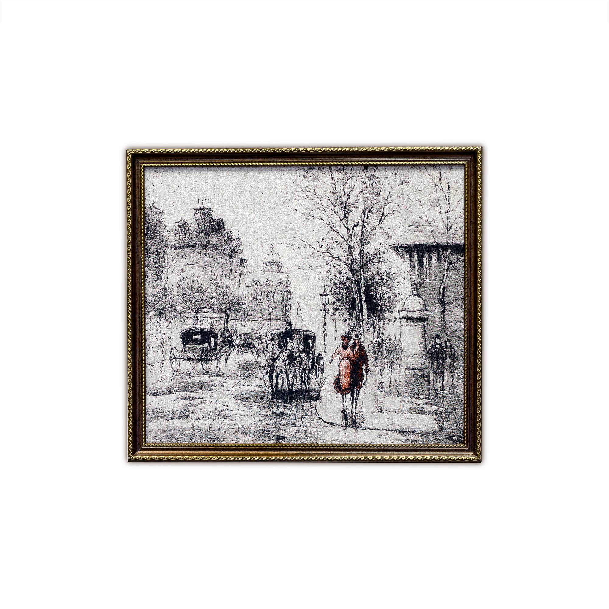 Купить Картины, постеры, гобелены, панно A La Gobelin, Картина Рисунок Тушью (44х50 см), Россия, Гобелен