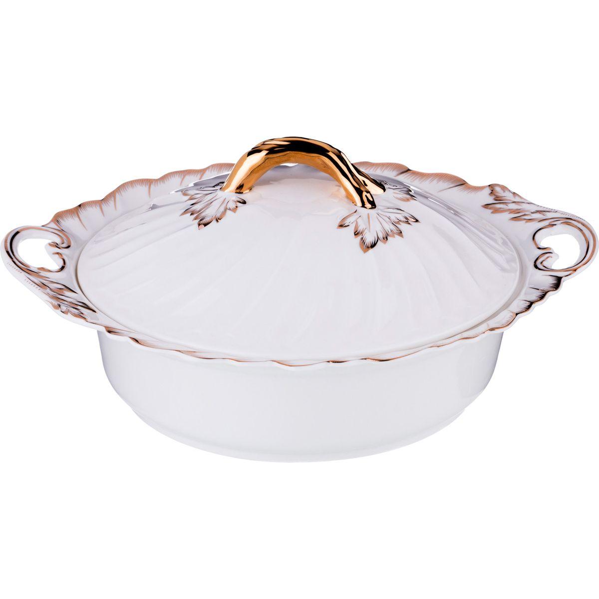 Блюдо с крышкой Зефир (14х25х29 см) Lefard lfr379519