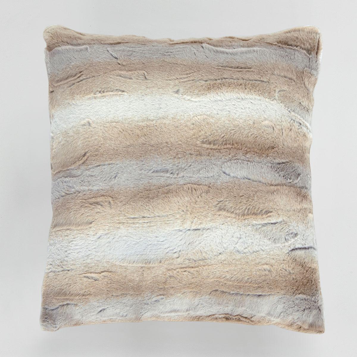 Купить Декоративные подушки Arya, Декоративная наволочка Rodrigo (45х45), Турция, Искусственный мех