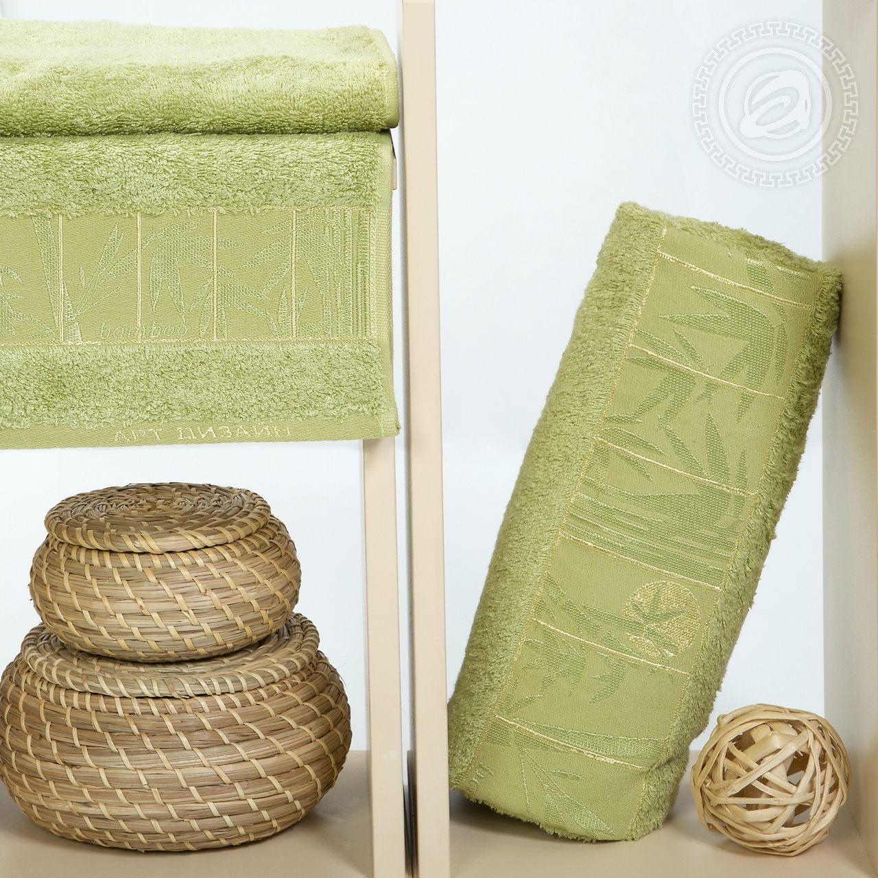 Полотенце Lindy Цвет: Фисташковый (50х90 см,70х140 см)