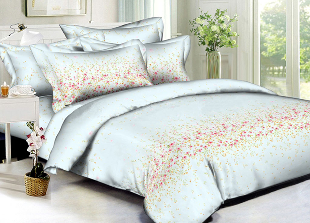 Комплекты постельного белья Примавера, Постельное белье Nan (семейное), Китай, Хлопковый сатин  - Купить