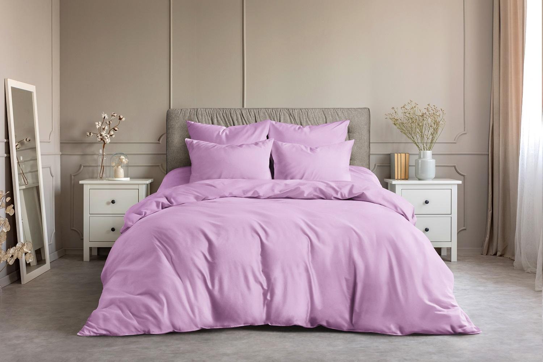 Наволочка Светло-розовый (50х70 (2 шт))