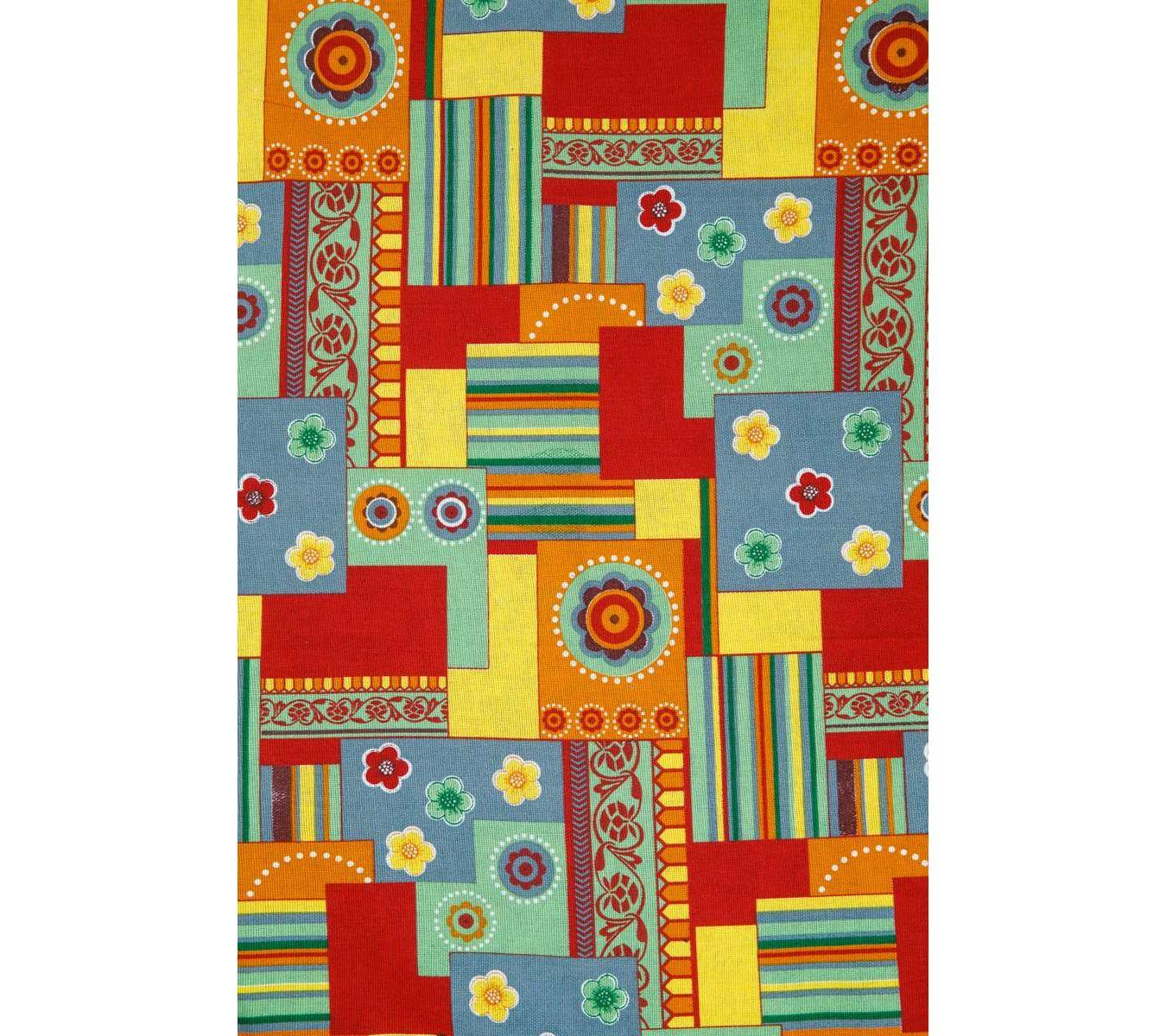 Кухонное полотенце Орнамент и полосы цвет: желтый (45х73 см - 2 шт)