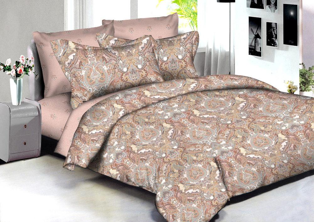 Комплекты постельного белья Amore Mio, Постельное белье Samarkand (2 сп. евро), Китай, Розовый, Хлопковый сатин  - Купить